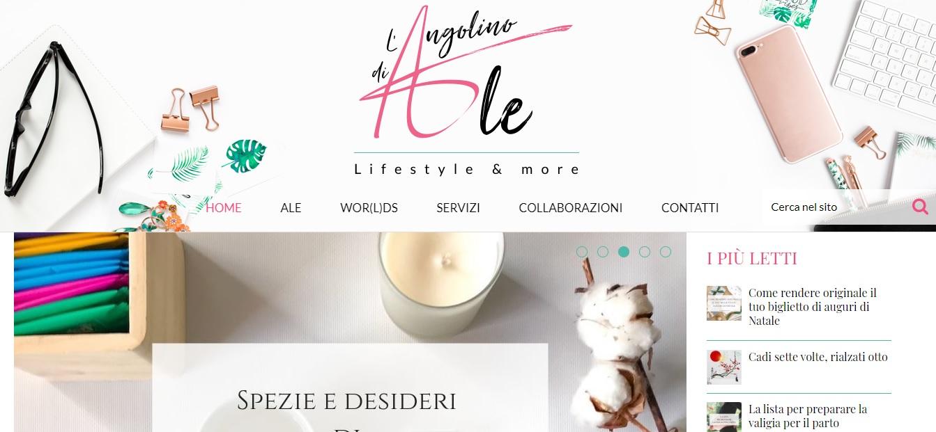 L'angolino di Ale - Lifestyle & more